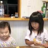 泣く泣く幼稚園休み・・・ 家でのクッキー作り