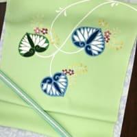 江戸刺繍展・今日のような日のコーディネート