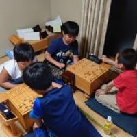 5月20日子供と初心者の教室の風景