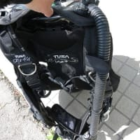 フリー潜降の姿勢を安定させるポイントは前傾姿勢そしてBC排気法