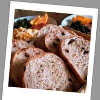 米粉入りシードミックス&チョコ食パン
