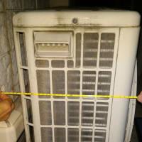 たまのはエアコン室外機大掃除