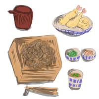 """B.絵つきコラムの募集。今回のお題は""""一日の食事"""""""