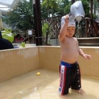 しろ・すみれ 1歳児 プール