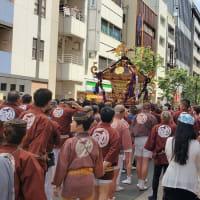 今日は「神田祭り」です。