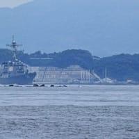 ミサイル駆逐艦「ラッセル」~佐世保へ