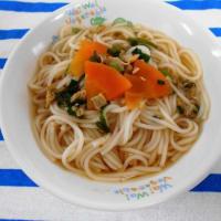 ウインナーと野菜のクリーム煮
