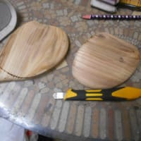 キウイ教室とリメイクテーブルとアサリ