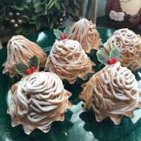 「プチモンブラン」でクリスマス