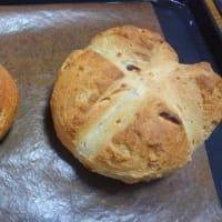 クランベリーとアーモンドのパン