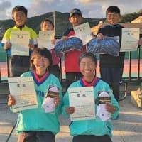 小学生Sテニスで林君(美浜Jr)組が県大会優勝 宮本・中西組、山崎さんも全国へ 〈2020年12月2日〉