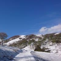 雪上シーズン終了