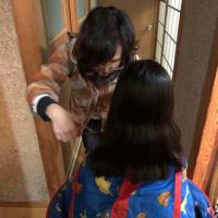葺き替え日和。今日の我が家は散髪屋さん☺️