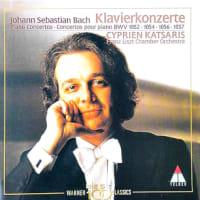 ◇クラシック音楽CDレビュー◇カツァリスのバッハ:チェンバロ協奏曲第1番/第5番/第3番/第6番