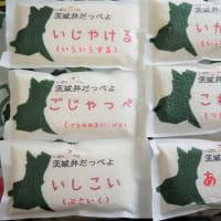 茨城弁パッケージで販売します。