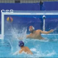 男子水球USA戦