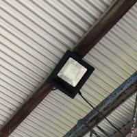 ソーラLEDの設置
