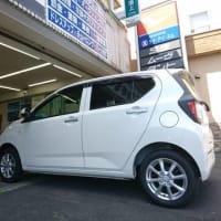 消費増税前に間に合いました!ダイハツ東京から新車「ミライース」が到着!