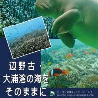 ジュゴンを守るために、Chang.orgに賛同をお願いします!