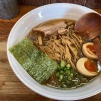 平塚市 八雲 めんまらー麺(醤油)800円 味玉100円
