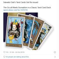 サルバドール・ダリが作ったタロットカード「タロット・ユニバーサル・ダリ」の複製版が再販されていた!