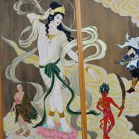 国上寺イケメン壁画