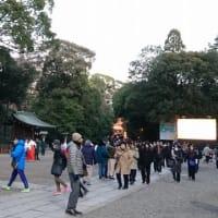 大宮氷川神社 早朝初詣2020! 今年も晴天