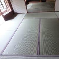梅雨時の新畳