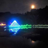 💖富士山と月💖