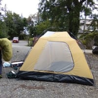 いろいろなテントのたたみ方