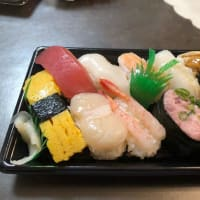 昨日の夕飯 寿司