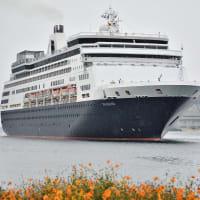 オランダの客船・マースダム(Maasdam) 長崎初寄港 2019/9/1