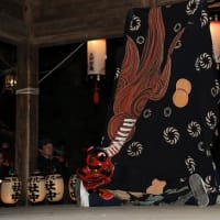 大宮熱田神社例祭の獅子舞⑥
