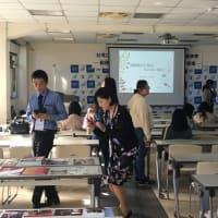 台湾訪問4日目〜大同大学にて