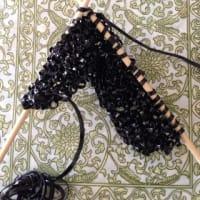 バッグ編んでみました