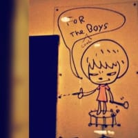 """【CNN】    10月14日12:30分、""""""""日本人アーティストがNYのバーに描いた「落書き」に脚光"""""""""""