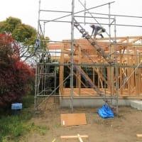 自由な家!プロジェクト いすみ市日在『 目指せミニマリスト!の小さな家 』⌂Made in 外房の家。は、本日上棟無事完了!!しました。