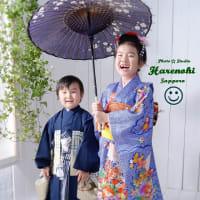 11/5 楽しい七五三撮影・兄弟姉妹一緒に♪ 札幌写真館フォトスタジオハレノヒ
