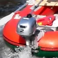 小名木川を行くボート、TW229N
