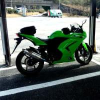 Ninja250Rで高速1周ツーリング