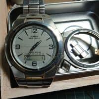 ジャンク時計を修理