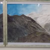 2019年第42回神奈美公募展;出品作品(2);北アルプス展望(2)