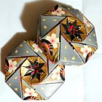 折紙「八角箱」