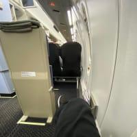 長崎から羽田フライト、遅延。