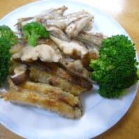 おばさんの料理教室 ニギスと椎茸を使ったアヒージョ