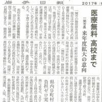 一関市が高卒まで医療費助成!