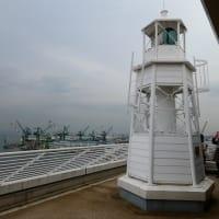 ホテルに建つ公式灯台