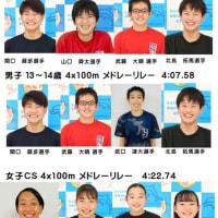 【結果報告】第44回全国JOC全国ジュニアオリンピックカップ夏季水泳競技大会