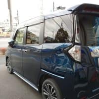 納車前の新車「タント・カスタム」にはモデリスタ製のエアロパーツを装着しました!