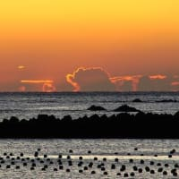 初冬の夜明け (志摩・船越)